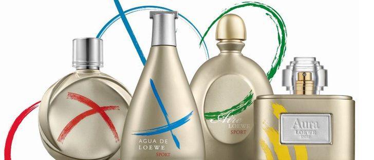 Loewe saca una colección de perfumes en honor a los Juegos Olímpicos de Río 2016