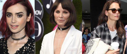 Katie Holmes, Lily Collins y Soraya Arnelas, entre los peores beauty looks