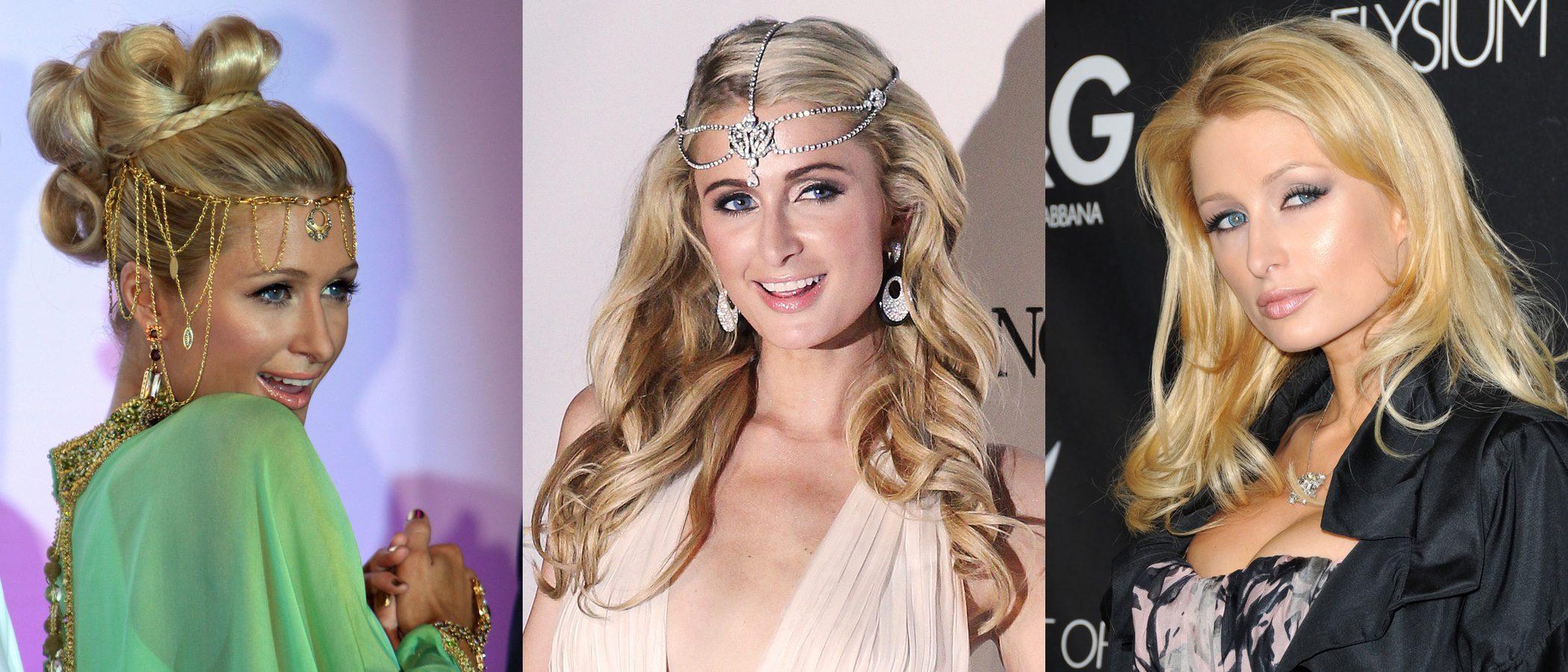 Paris Hilton: repaso a sus peores peinados