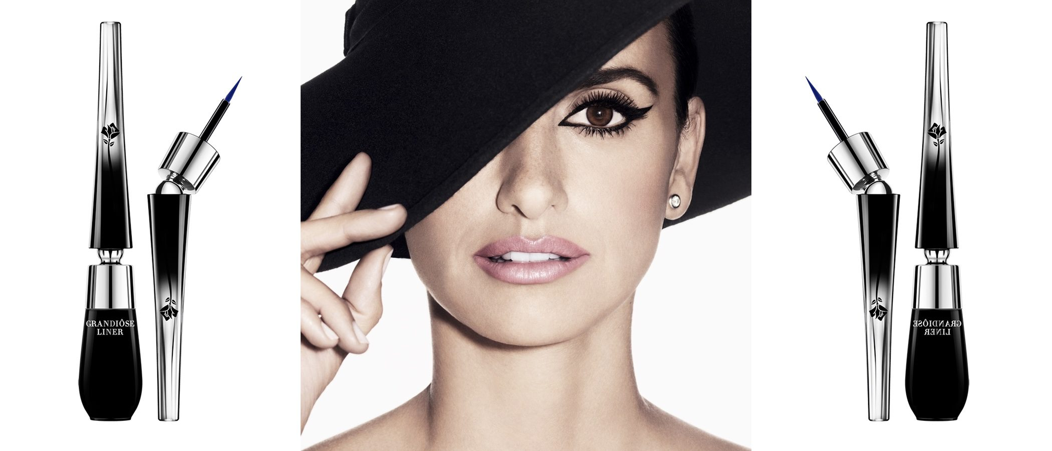 Penélope Cruz, imagen de los nuevos eyeliners de Lancôme