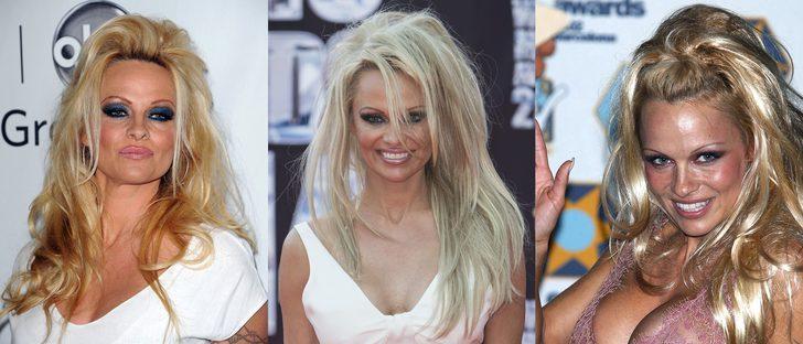Pamela Anderson y sus peores beauty looks