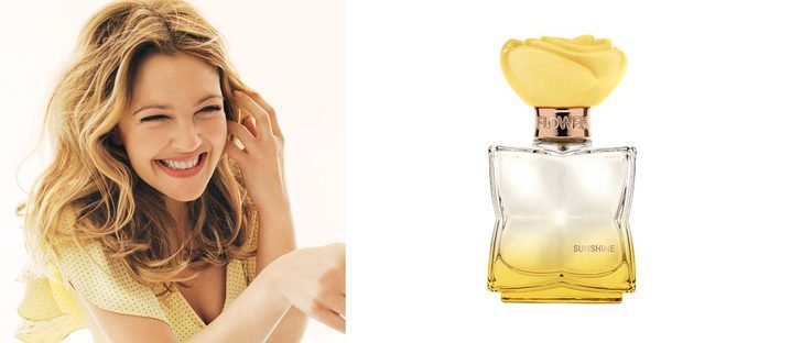 Drew Barrymore 'roba' la luz al sol con su perfume 'Sunshine'