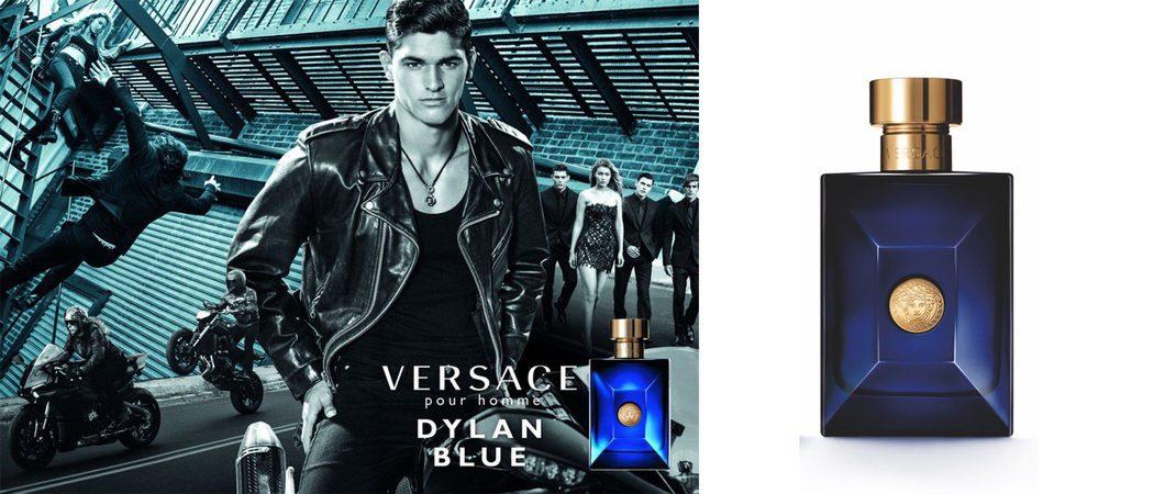 Versace busca el lado masculino más seductor con 'Dylan Blue'