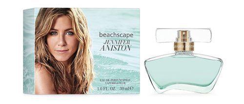 Jennifer Aniston te lleva a la orilla del mar con su fresca fragancia 'Beachscape'
