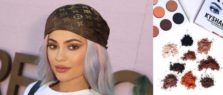 Kylie Jenner se lanza al mundo de las sombras de ojos con 'KyShadow'
