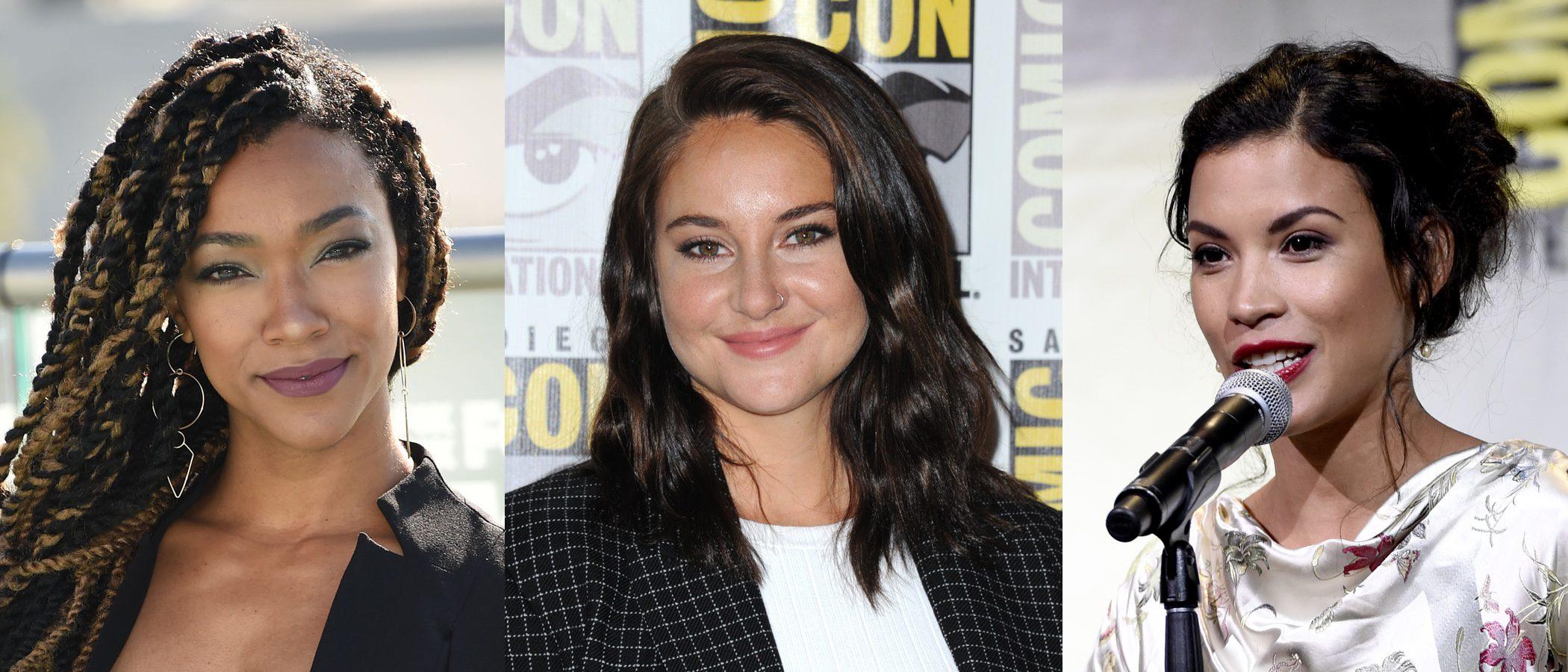 Sonequa Martin Green, Shailene Woodley y Danay Garcia entre los mejores beauty looks de la semana