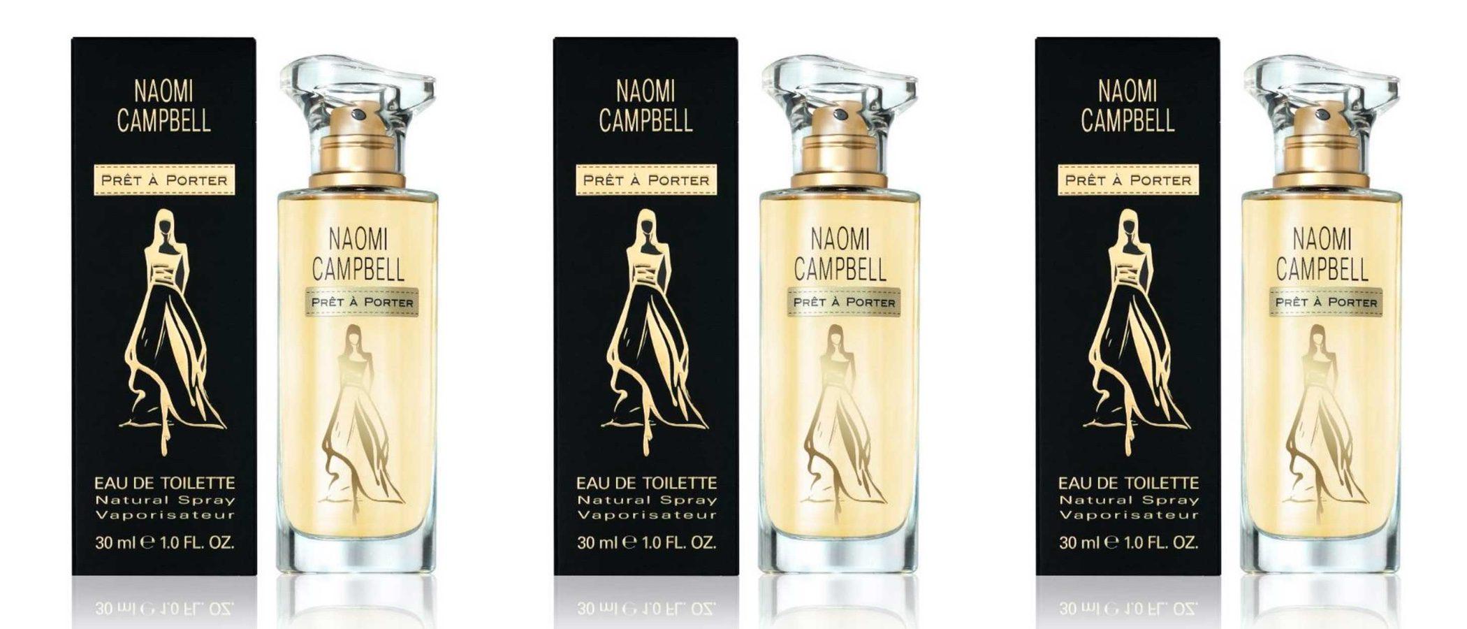 'Prêt à Porter': así es el nuevo perfume de Naomi Campbell
