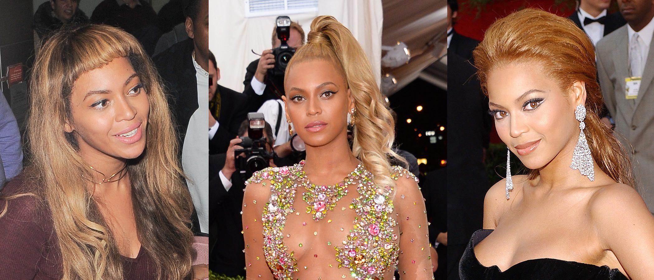 Beyoncé y sus peores beauty looks