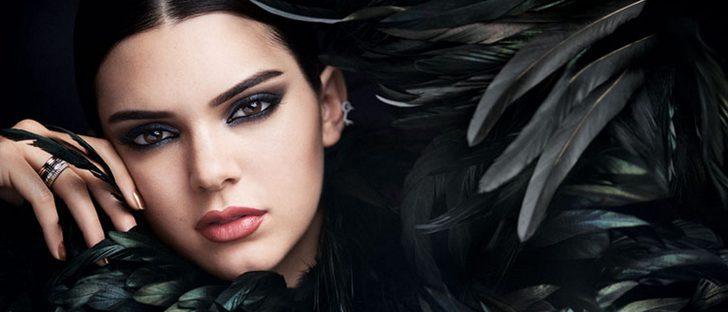 Kendall Jenner deslumbra como imagen del perfume 'Modern Muse Nuit' de Estée Lauder