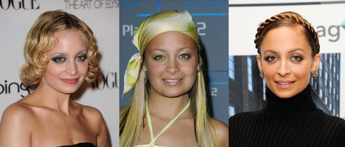Los peores beauty looks de Nicole Richie
