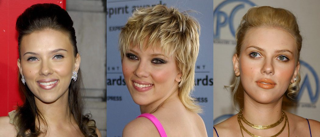 Los peores beauty looks de Scarlett Johansson