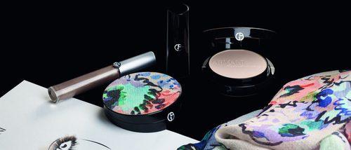 Giorgio Armani saca una colección de maquillaje exclusiva inspirada desde el backstage