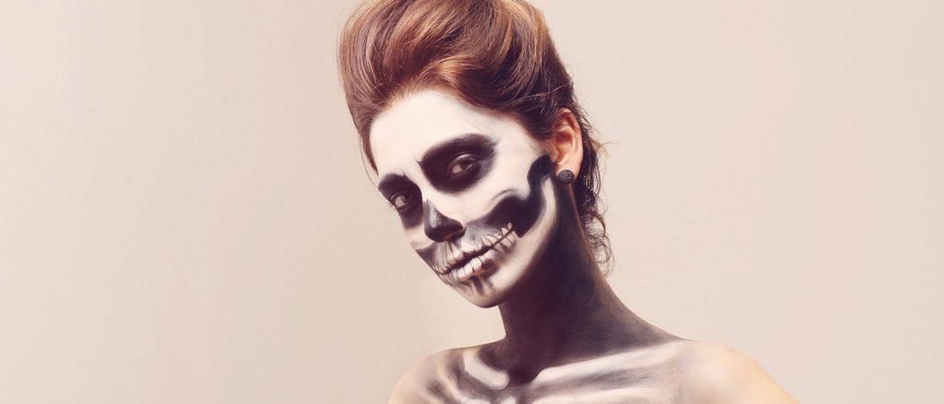 Cómo maquillarse para un Halloween terrorífico