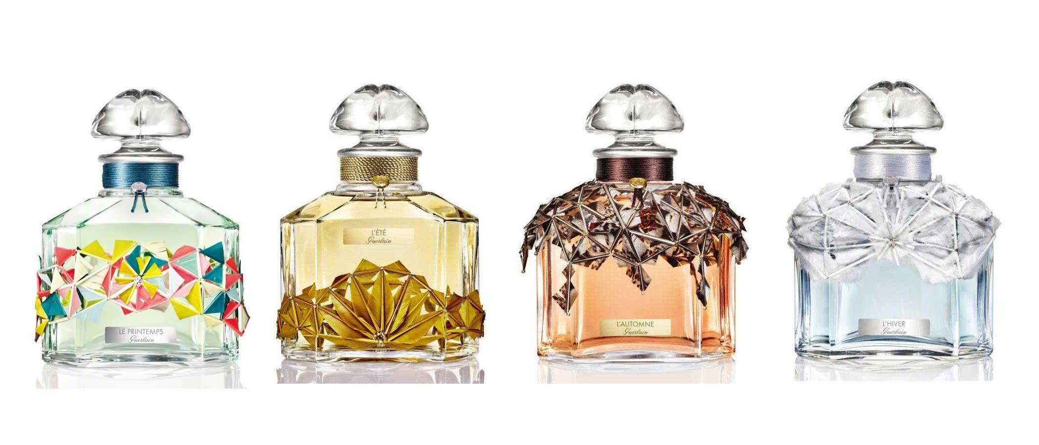 Guerlain inspira fantasía con su colección de fragancias pensada para todas las estaciones