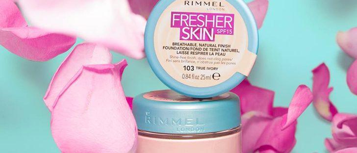 'Fresher Skin', la nueva base de maquillaje de Rimmel London para un look fresco y natural