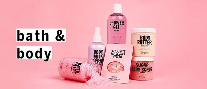 Bershka lanza su nueva colección de ducha y cuidado para la piel