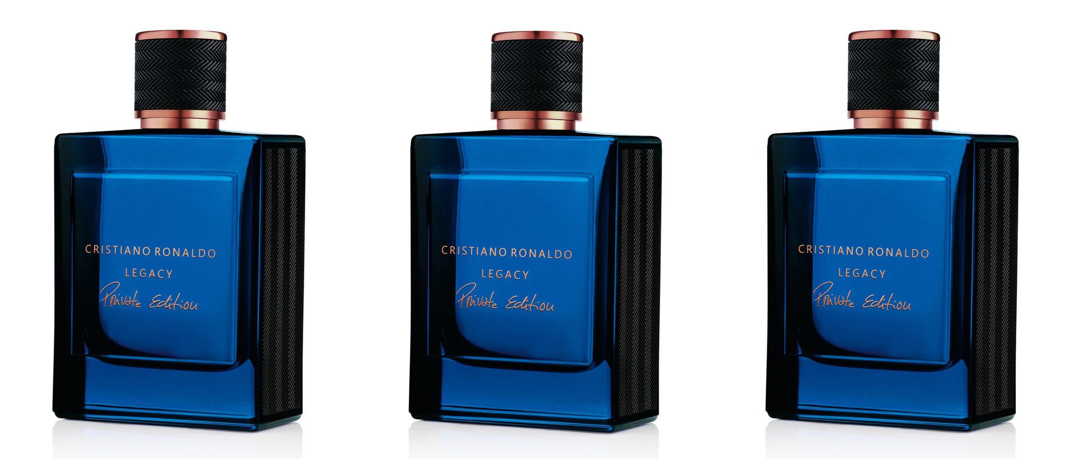Cristiano Ronaldo saca una nueva edición de su perfume 'Legacy'