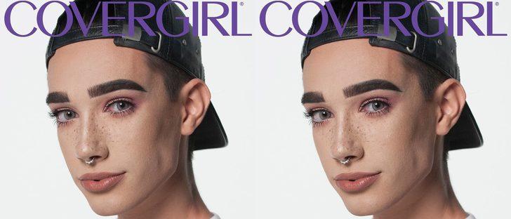 James Charles se convierte en el primer embajador hombre de Covergirl