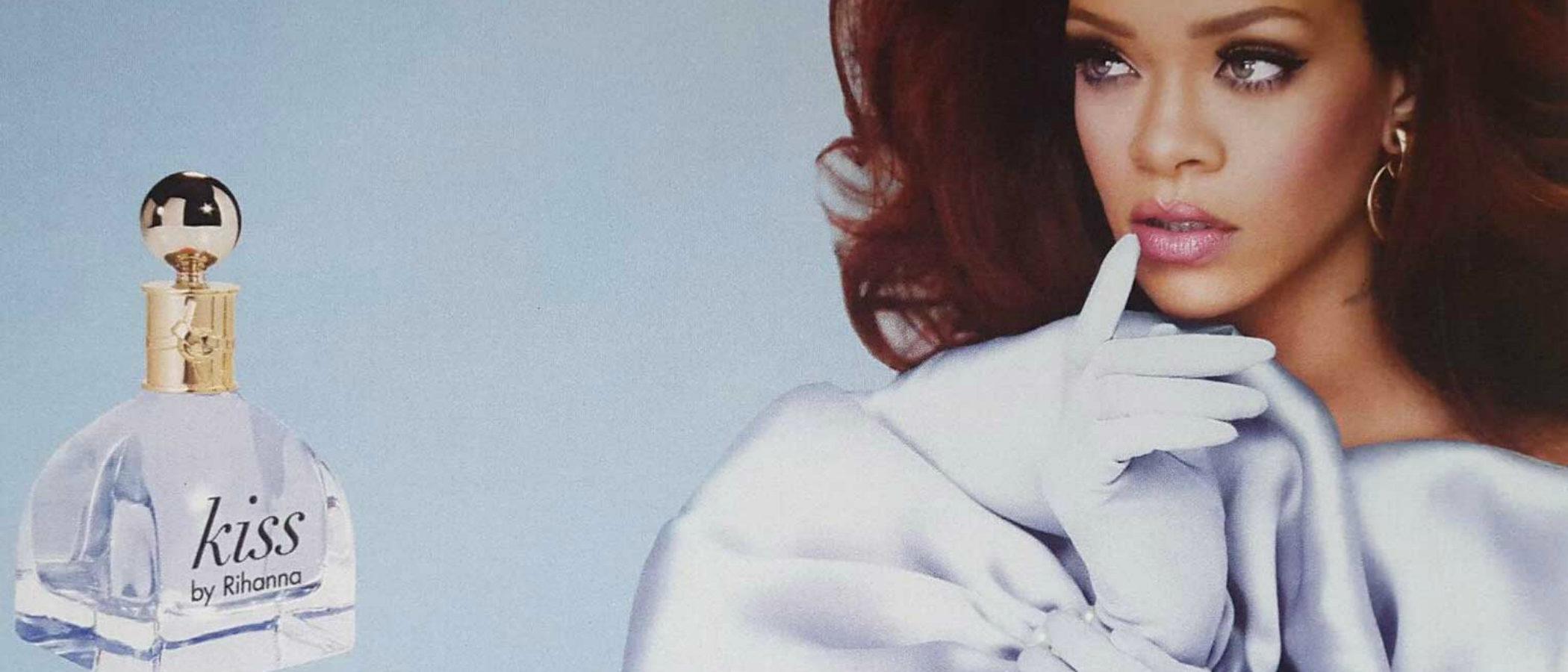 'Kiss', el nuevo perfume de Rihanna para principios de 2017
