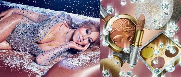 Mariah Carey colabora con MAC lanzando una colección de maquillaje para Navidad 2016