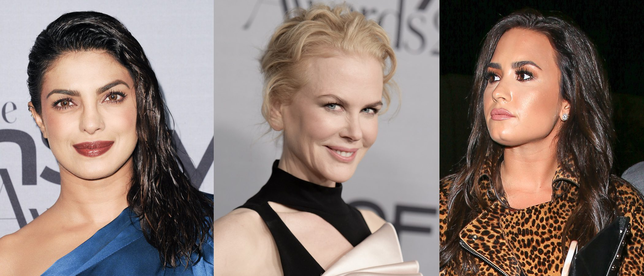 Priyanka Chopra, Nicole Kidman y Demi Lovato entre los peores beauty looks de la semana