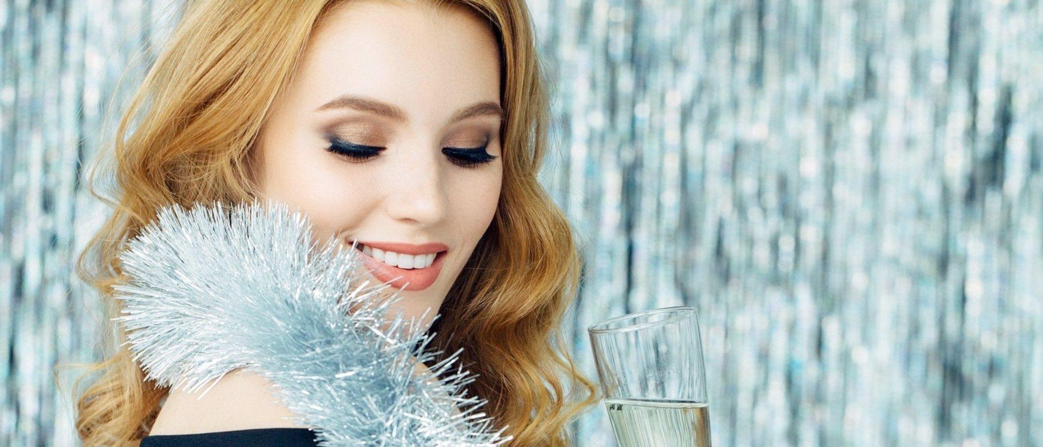 Cómo maquillarse para la cena de Nochebuena