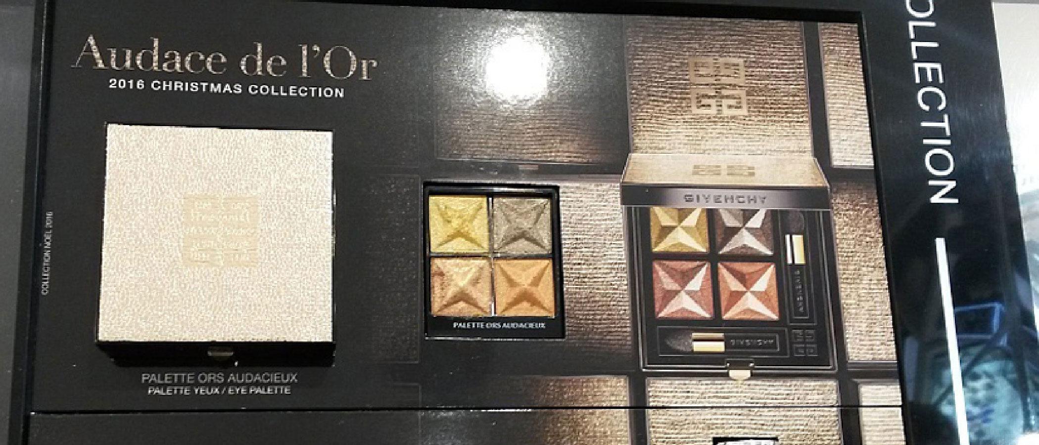 Givenchy lanza su edición limitada de maquillaje 'Audace de l'Or' para esta Navidad