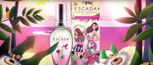'Fiesta Carioca', la nueva fragancia veraniega de Escada
