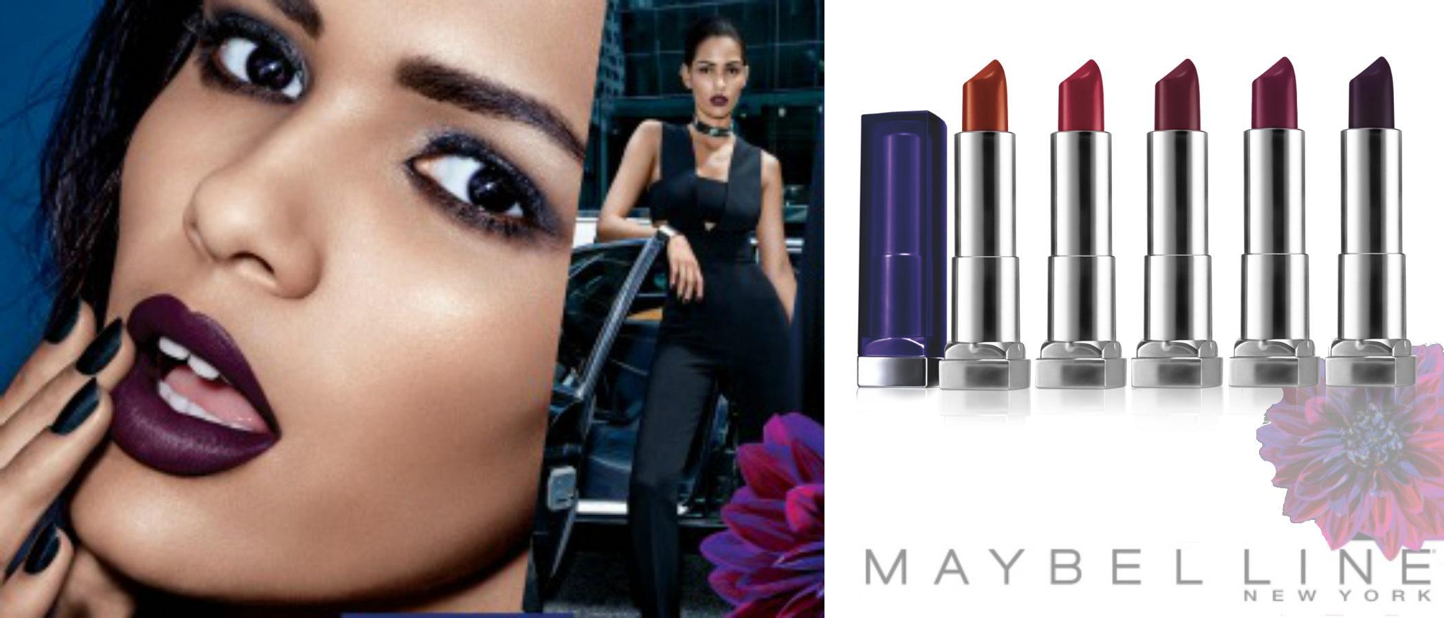 'Color Sensational Bolds', la nueva línea de labiales de Maybelline