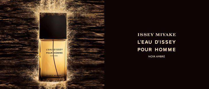 'L'Eau d'Issey Pour Homme Noir Ambre', el nuevo perfume para hombre de Issey Miyake