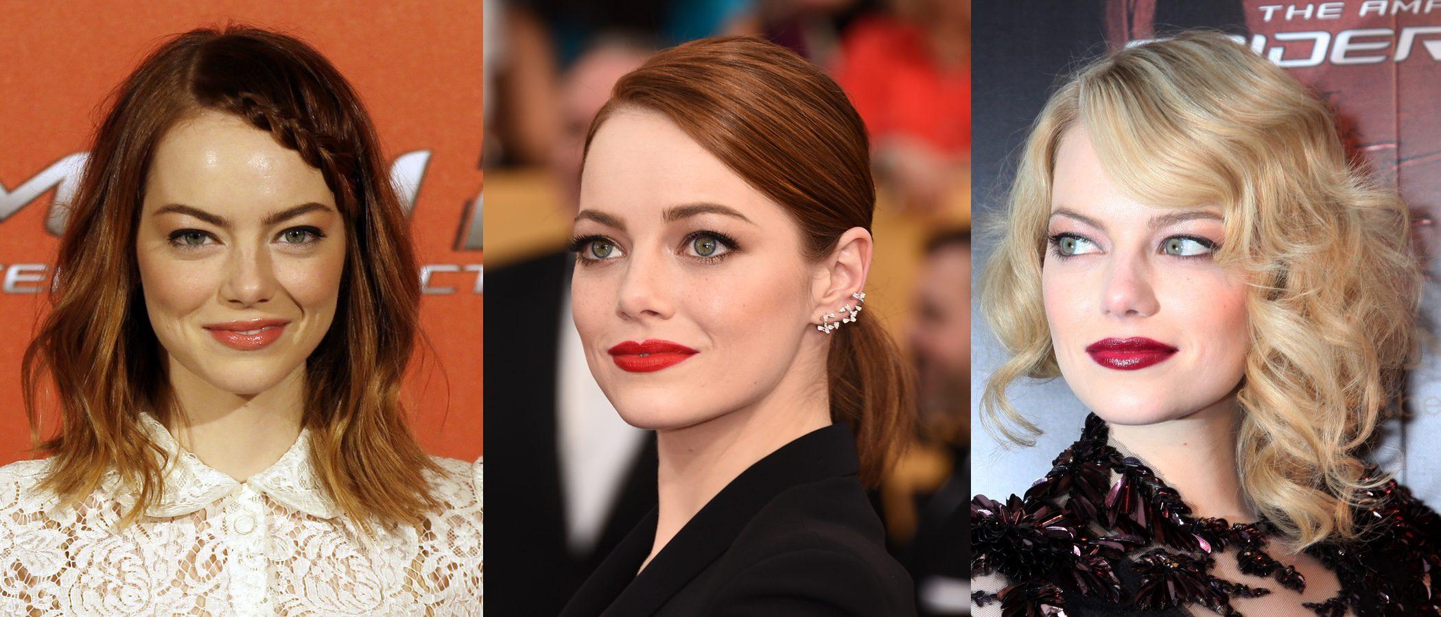 Los mejores beauty looks de Emma Stone