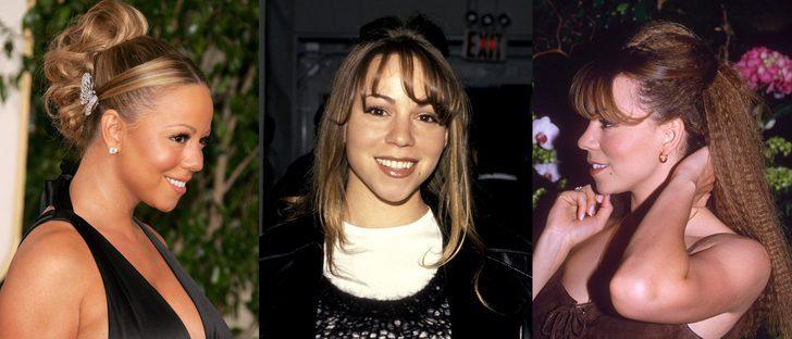 Los peores beauty looks de Mariah Carey