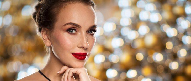 Cómo maquillarse para la comida de Navidad