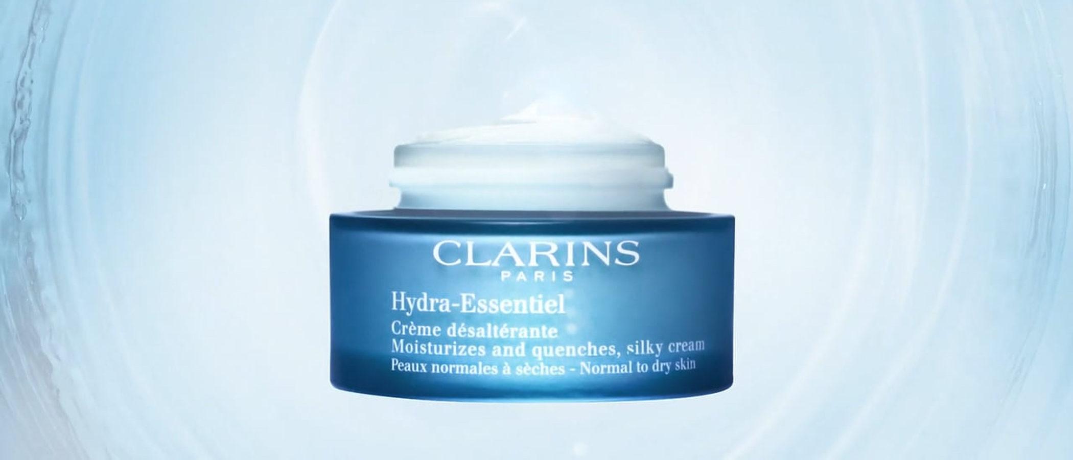 Clarins saca 'Hydra-Essentiel', su nueva colección que ayuda a la piel a autohidratarse