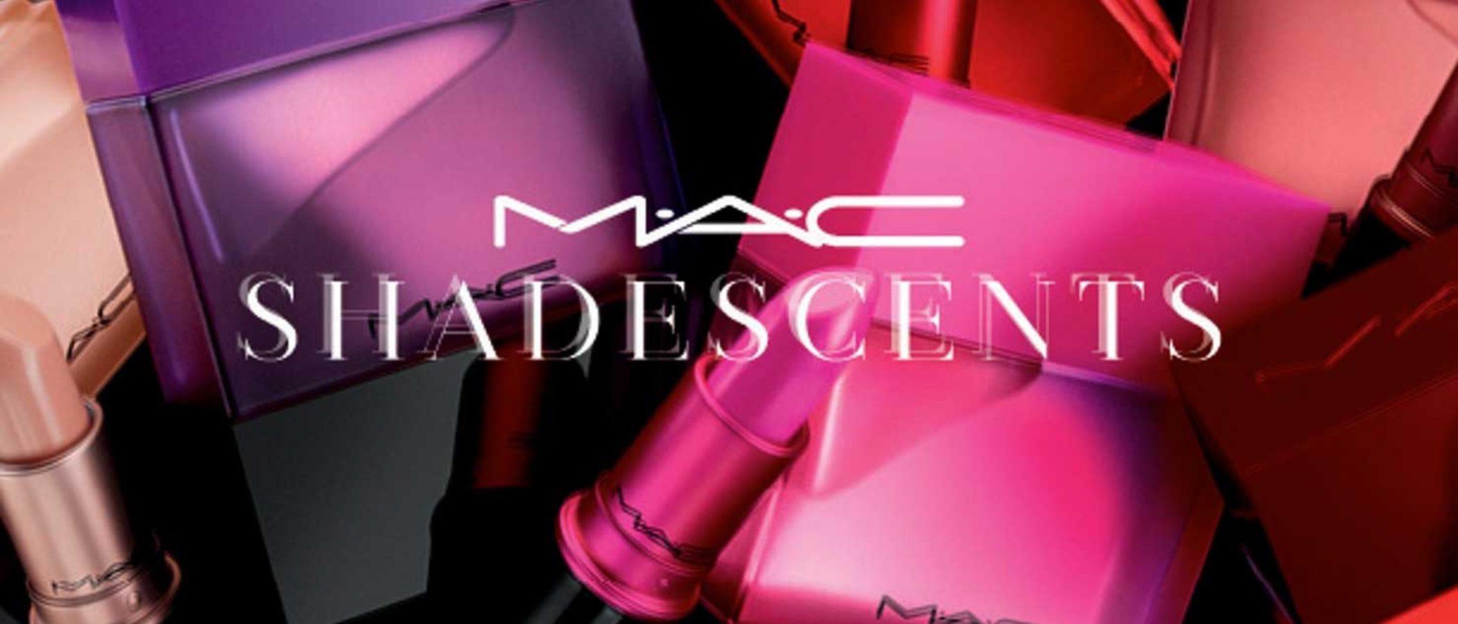 MAC presenta una nueva línea de perfumes 'MAC Shadescents' compuesta por seis fragancias
