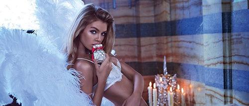 Stella Maxwell se convierte en la imagen de 'Paris', el perfume de Victoria's Secret para esta Navidad