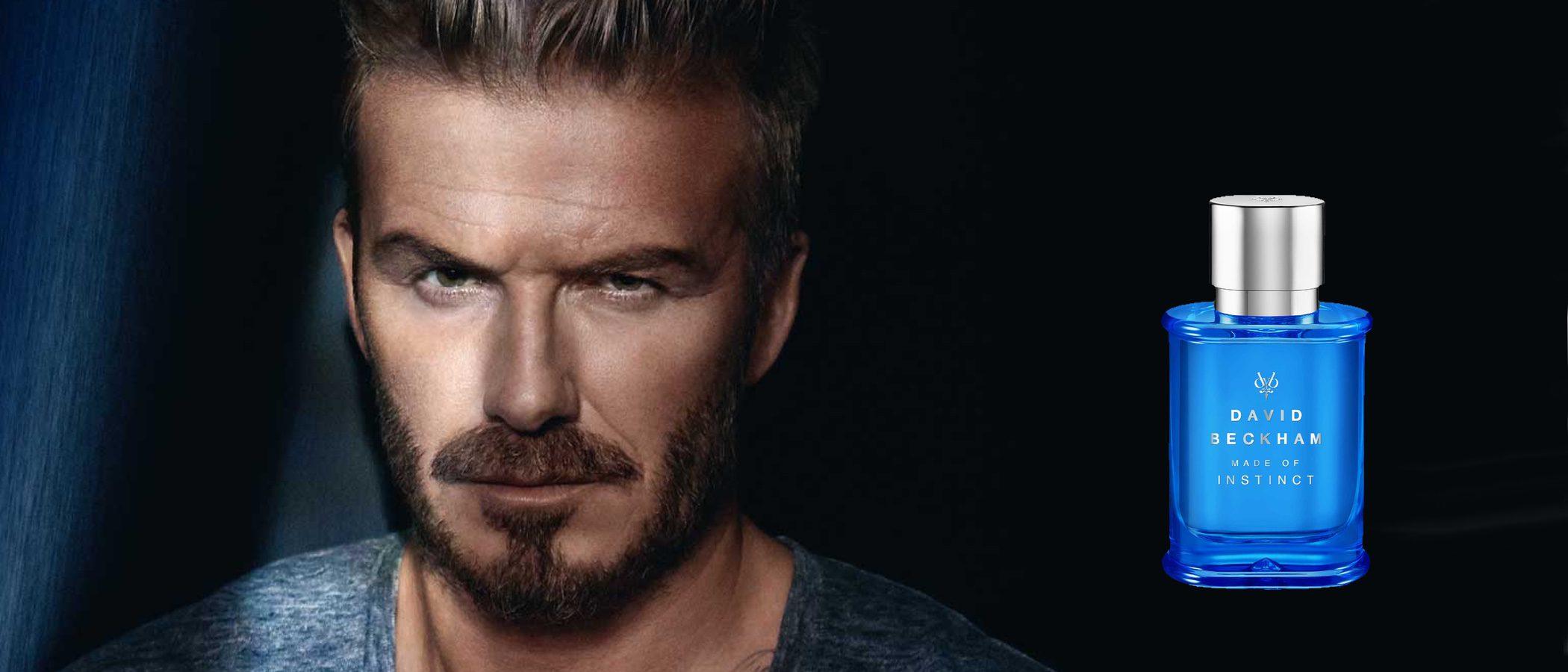 'Made of Instinct', el nuevo perfume de David Beckham