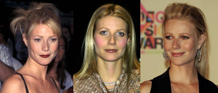 Los peores beauty looks de Gwyneth Paltrow