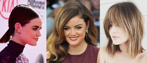 Los mejores peinados de Lucy Hale