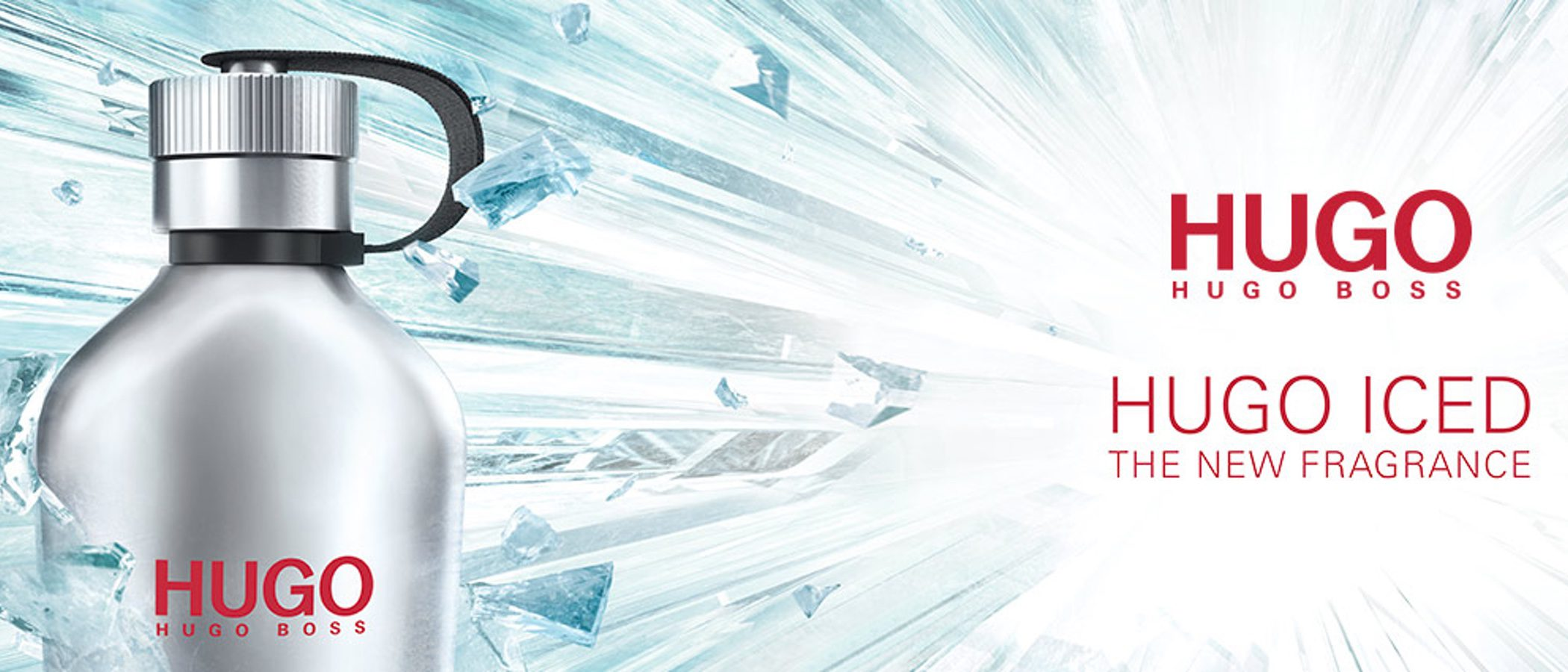 'Hugo Iced', el nuevo perfume de Hugo Boss