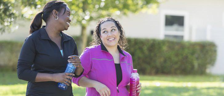 Beneficios de caminar una hora al día