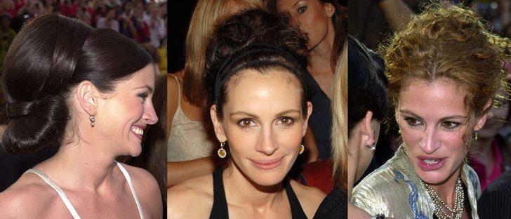 Los peores peinados de Julia Roberts