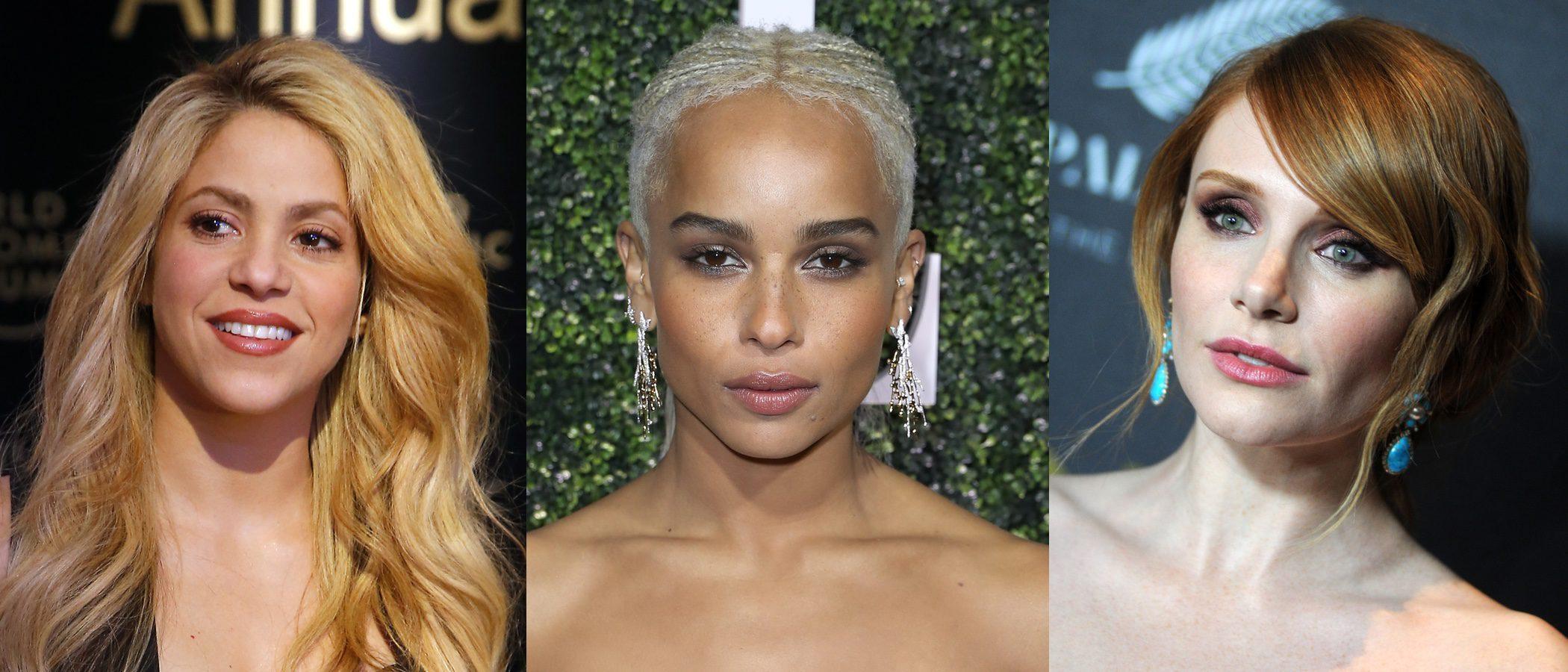 Shakira, Zoë Kravitz y Bryce Dallas Howard entre los mejores beauty looks de la semana