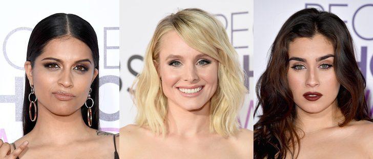 Lilly Singh, Kristen Bell y Lauren Jauregui, entre los mejores beauty looks de los People's Choice Awards 2017