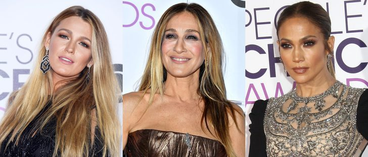 Blake Lively, Sarah Jessica Parker y JLo, entre los peores beauty looks de los People's Choice Awards del 2017