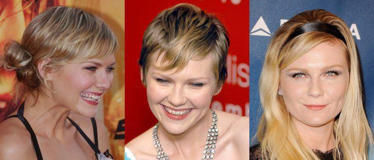 Los peores peinados de Kirsten Dunst