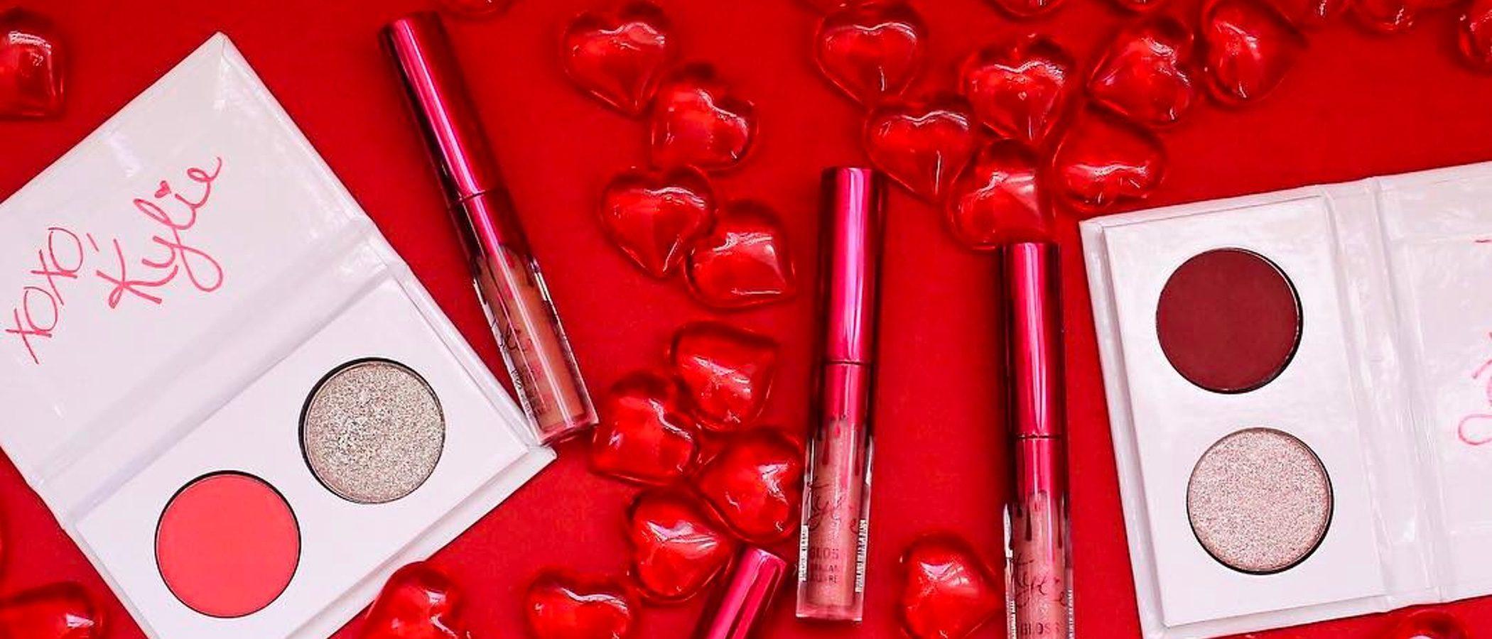 Kylie Jenner celebra San Valentín con una nueva línea de cosméticos