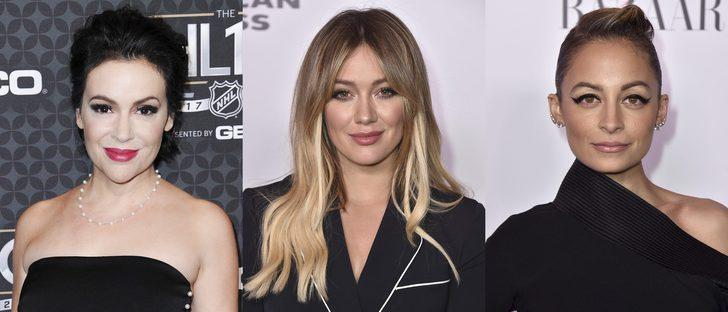 Alyssa Milano, Hilary Duff y Nicole Richie, entre los peores beauty looks de la semana