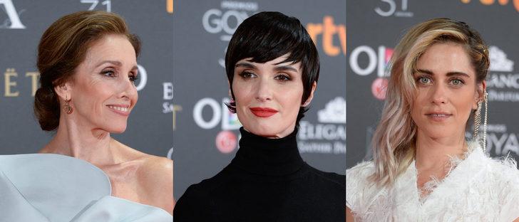 Ana Belén, Paz Vega y María León entre los mejores beauty looks de los Goya 2017