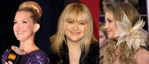 Los peores peinados de Kate Hudson